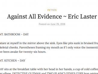 "Eric Laster ""Against All Evidence"" excerpt"